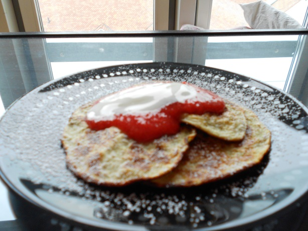 Low Carb Elderflower-Pancakes III