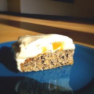 Frischkäse-Pfirsisch Torte